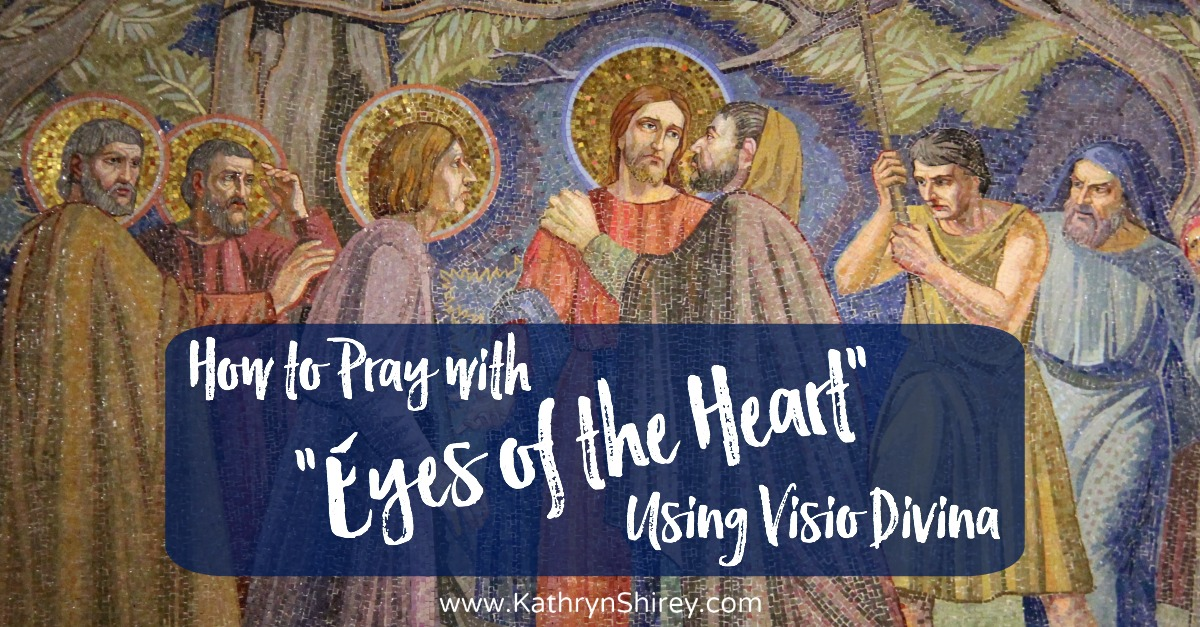 "Learn to pray with ""the eyes of the heart"" and enrich your prayer life through a multi-sensory connection with God, using Visio Divina (""divine seeing"")"