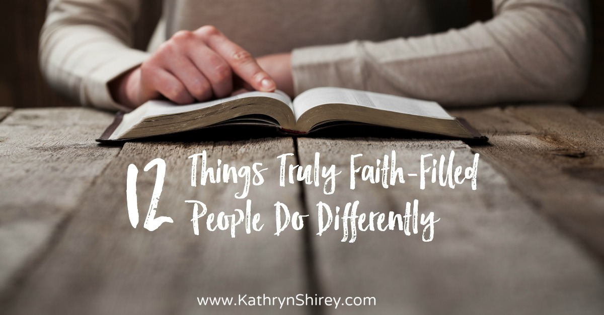 faith-filled people