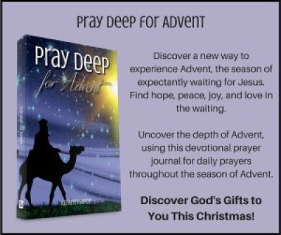 Pray Deep Advent Card