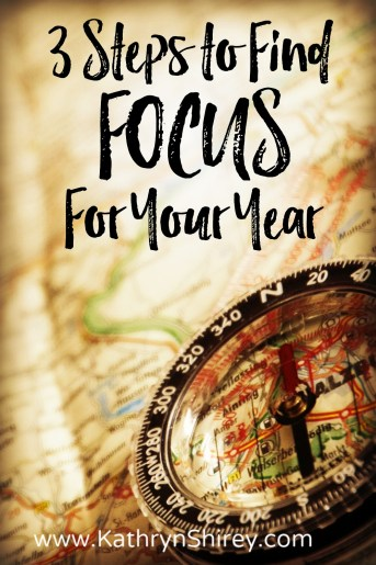 Do you feel like you're drifting and not reaching your dreams? These 3 steps will help you tune into God's plans and find focus for your year.