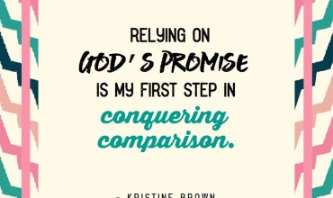 Let Go of Comparison and Live as God's Perfect