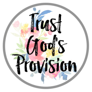 Trust God's Provision