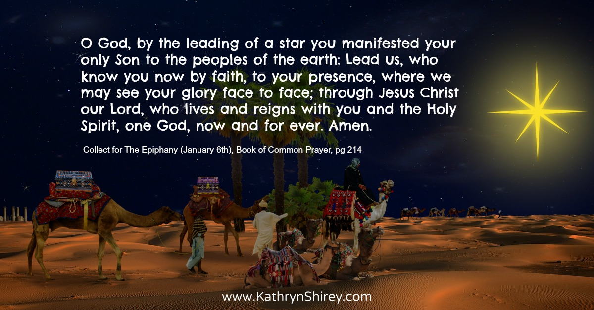 Prayer for the Epiphany, Book of Common Prayer