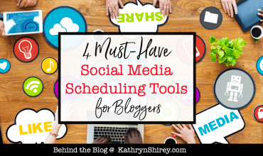 4 Must-Have Social Media Scheduling Tools for Bloggers