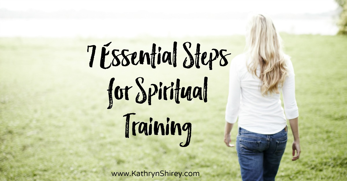 Are you ready for the storm to hit? Try preparing in advance with these 7 essential steps for spiritual training.