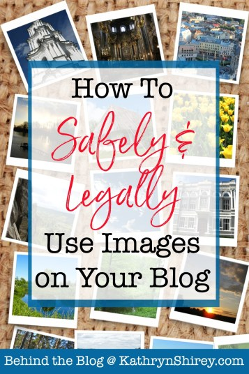 Don't be hit with legal issues & fines for copyright violations. Know the rules to legally use images on your blog! Follow the rules, no matter your size.