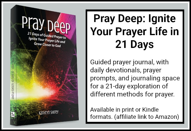 Pray Deep 21 Day Devotional | Learn 20 Prayer Methods