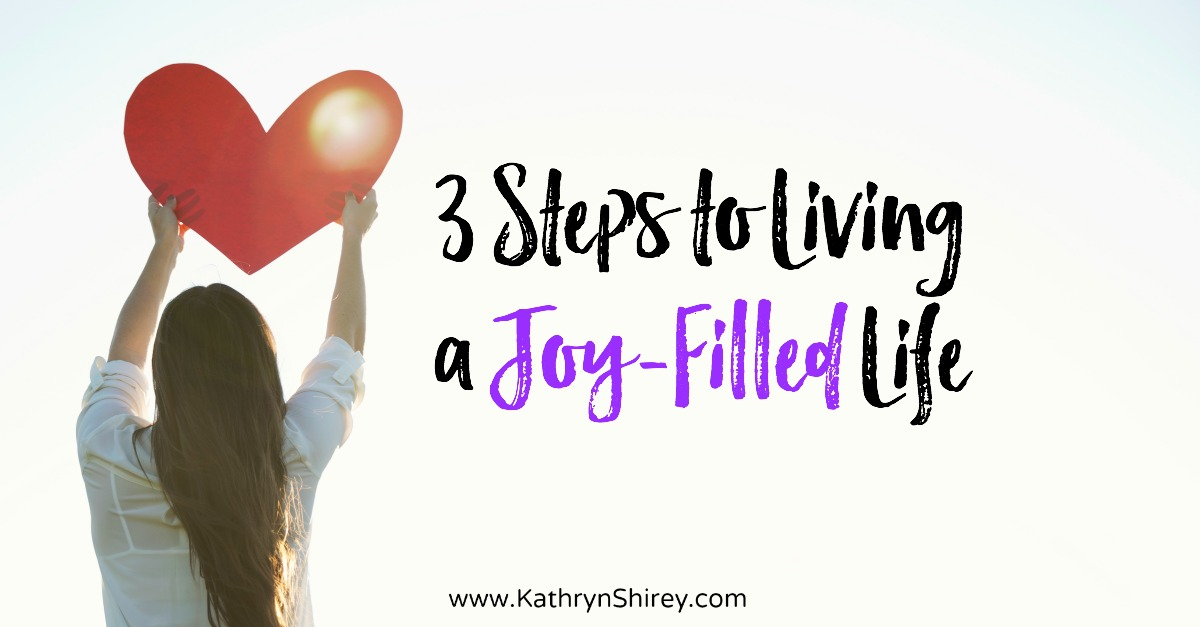 Life is hard, yet can we find joy in even through the darkest circumstances? Discover 3 steps to living a joy-filled life, even life isn't so happy. Learn to follow God's star in your life, just as the wise men did to find Jesus.