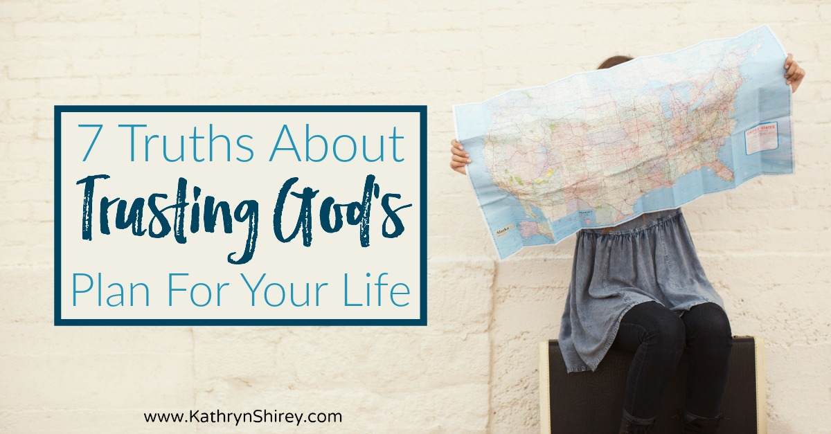 Worried about trusting God's plan for your life? Learn 7 truths about saying yes to follow God's calling on your life and why it will be your best decision.