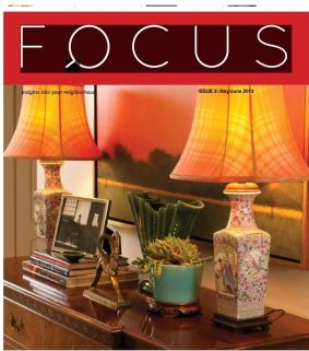 Featured in Home Issue of Brentwood Focus Magazine