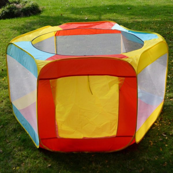 Baby Play Yard Folding Portable Playpen With Travel Bag