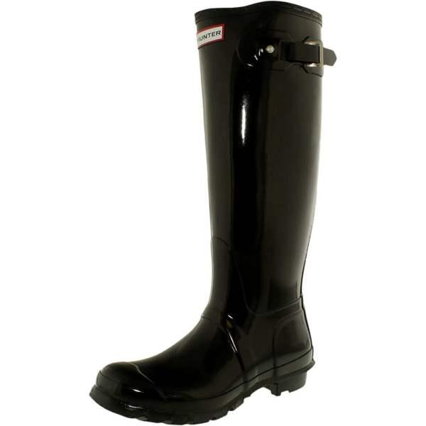 Cheap Hunter Women' Original Tall Knee-high Rubber Rain Boot