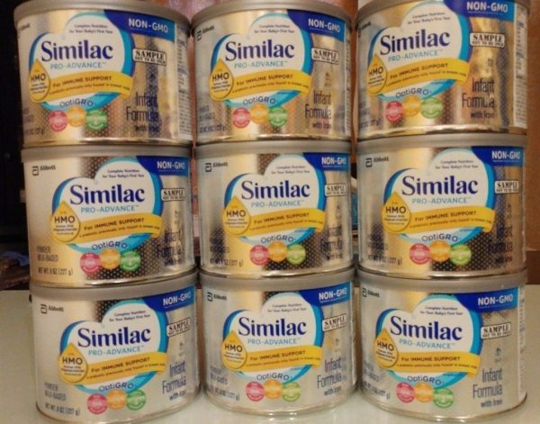 Cheap Lot Of 9 Similac Pro-advance Hmo -gmo Formula Iron Milk Based Powder 8 Oz