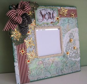 Heartfelt Creations altered Mirror 02