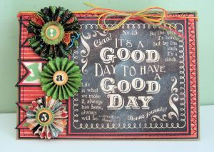 Graphic 45 Good Day Card 01
