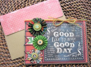Typography Good Day Card 05