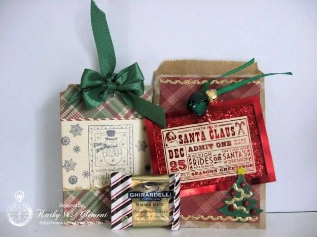 Secret Santa Bag insides