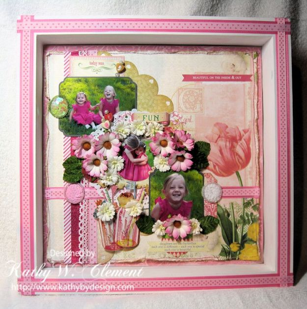 Kathy by Design/Pretty in Pink Shadowbox