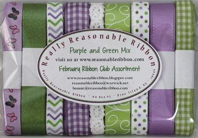 February Ribbon Club Assortment