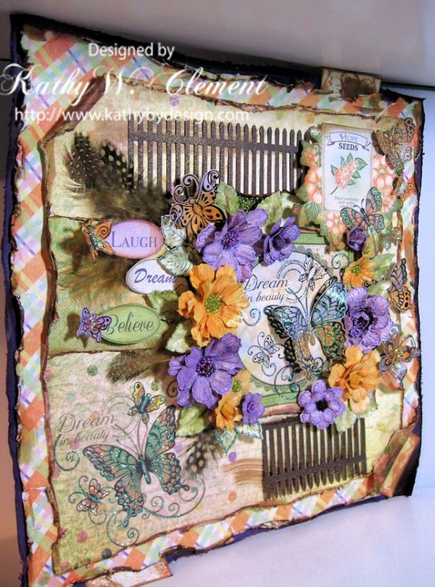 Butterfly Medley Layout 02a