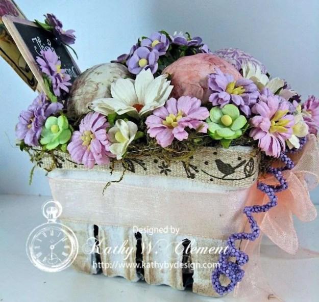 Think Spring Easter Basket/Kathy by Design