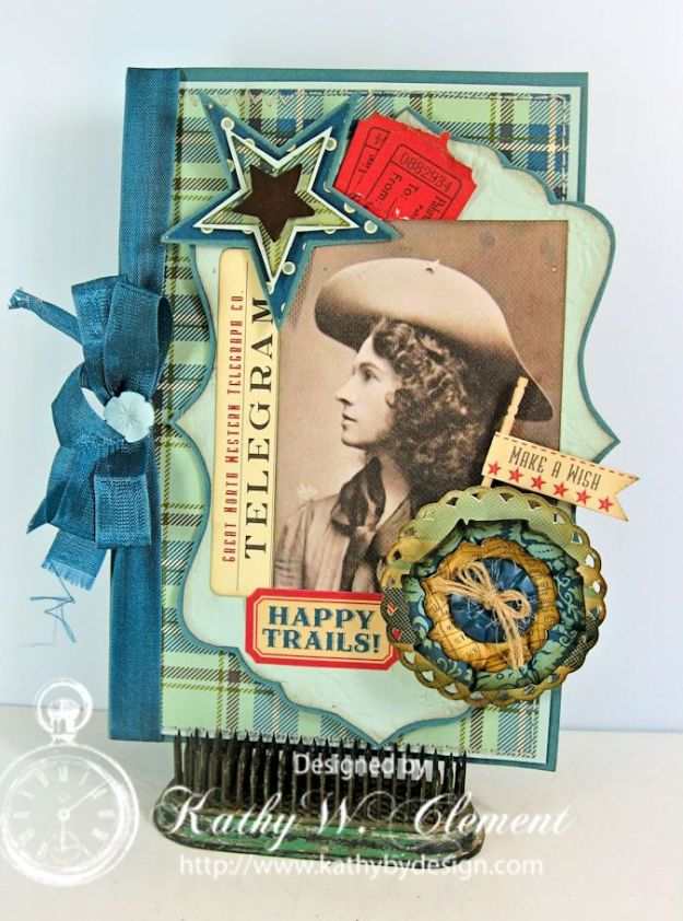 Annie Oakley Birthday Card/Kathy by Design
