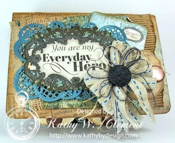 Everyday Heroes Mini Album/http://www.kathybydesign.com