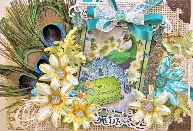Peacock Paisley Album 10a