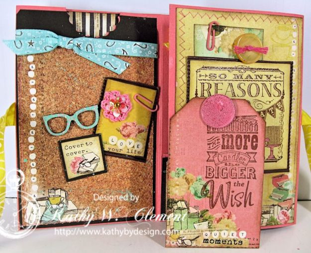 Kathy by Design/Coffee Break Birthday Mini Album for Really Reasonable Ribbon