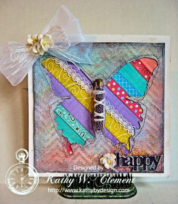 Beautiful Ribbon Butterfly/Kathy by Design for Really Reasonable Ribbon