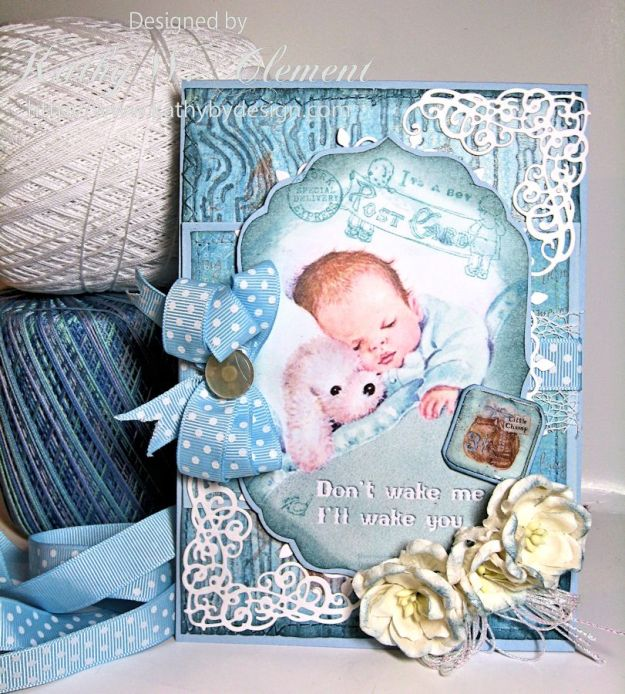 Crafty Secrets Baby Boy Card 05