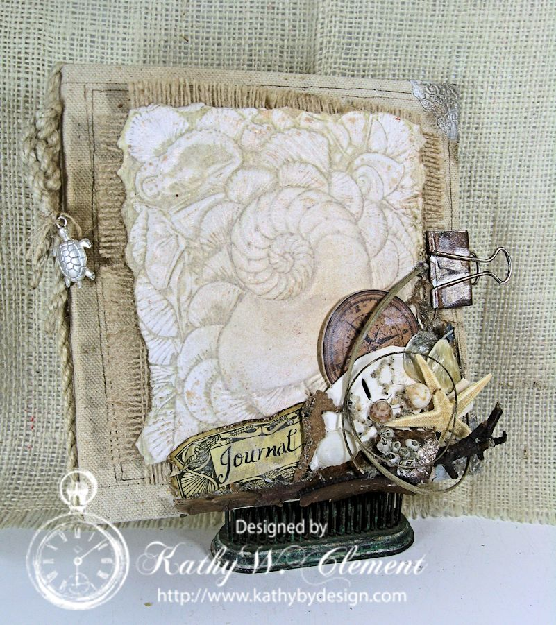 """Maritime """"Sea Fever"""" Journal/Kathy by Design"""