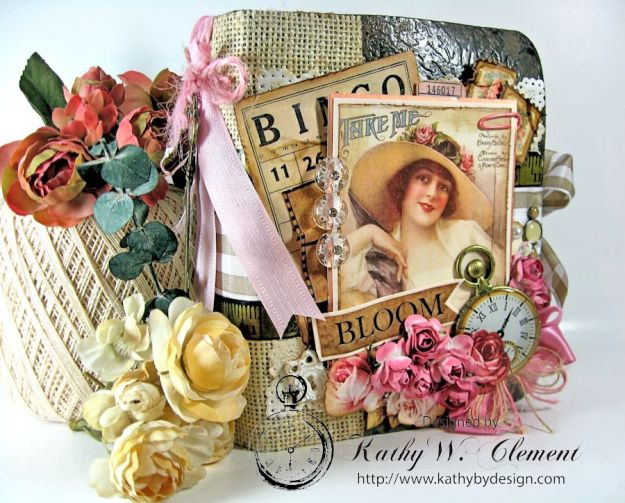 Everythings Coming Up Roses Mini Album Kathy Clement 03