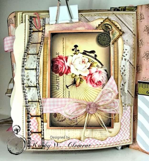 Everythings Coming Up Roses Mini Album Kathy Clement 13