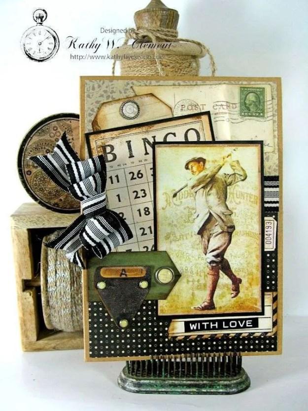 Golf Card 01 Masculine Creativity Kit
