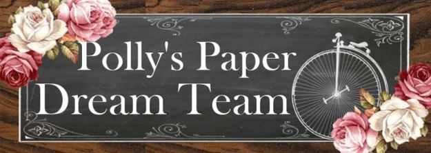 Polly's Paper Dream Team Blog Badge