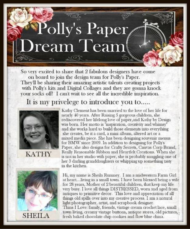 Polly's Paper Dream Team