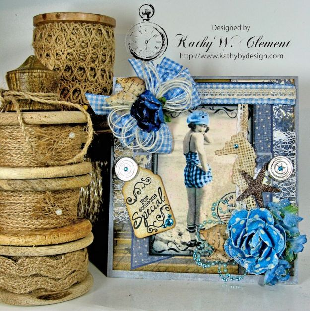 Kathy by Design/Vintage Beach Flapper Card