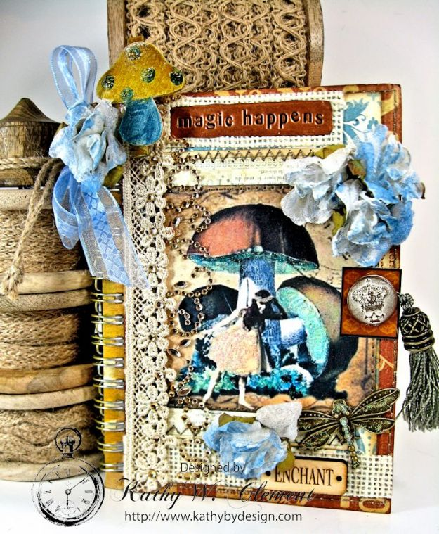 Mushroom Fairies Notebook 01