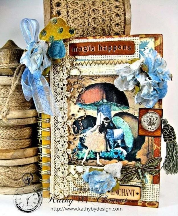 Mushroom Fairies Notebook 01