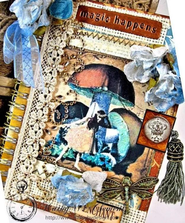 Mushroom Fairies Notebook 02