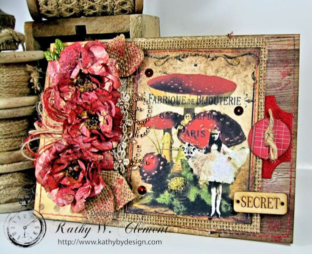 Kathy by Design: Mushroom Fairies for Polly's Paper Etsy