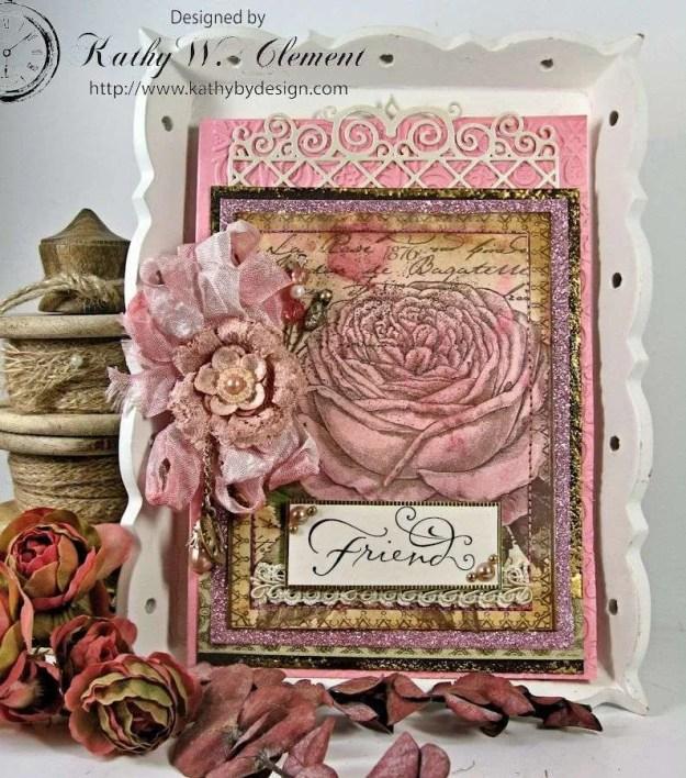 Crafty Secrets Brown Roses 01