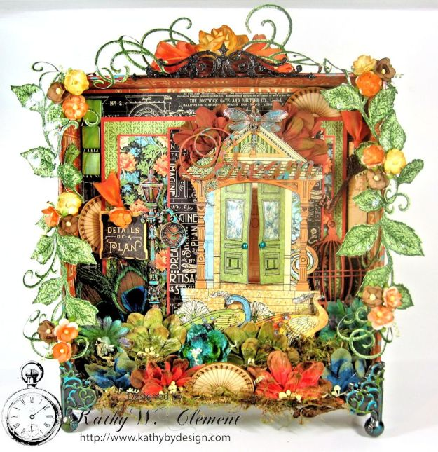 Kathy by Design/Artisan Style Shadowbox 01