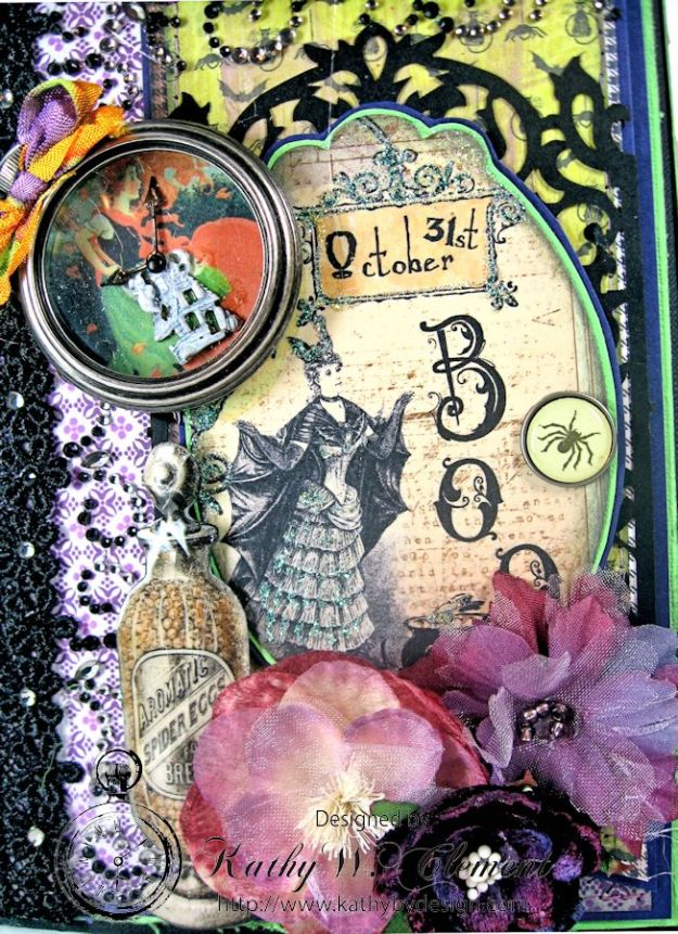 Crafty Secrets Purple and Green Halloween Album04