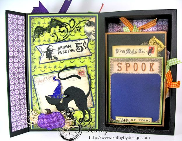 Crafty Secrets Purple and Green Halloween Album07