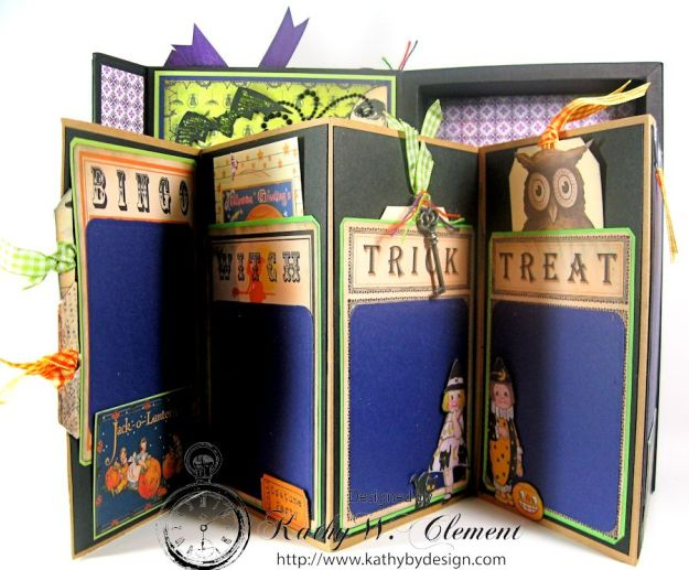 Crafty Secrets Purple and Green Halloween Album08