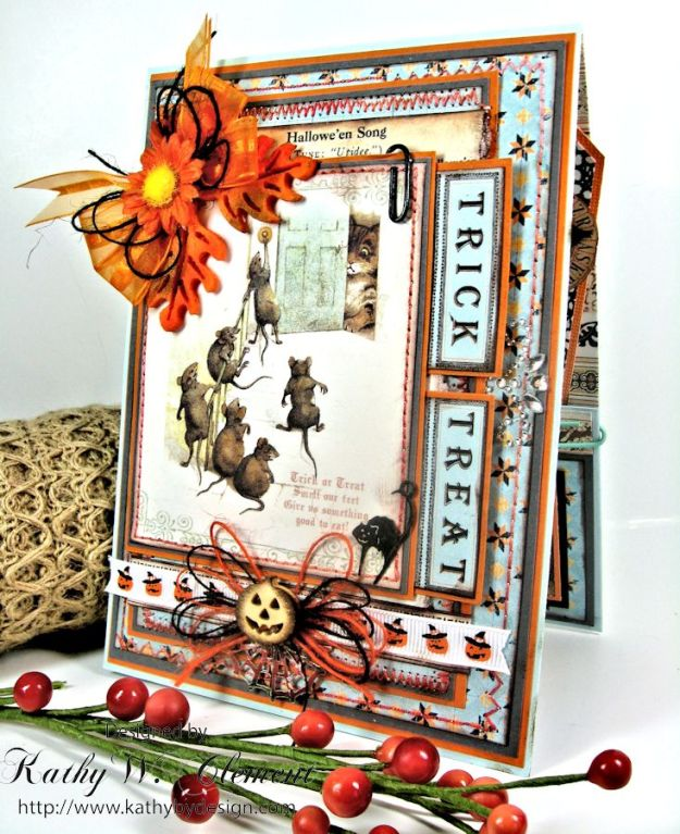 Kathy by Design/Trick or Treat Pocket Card