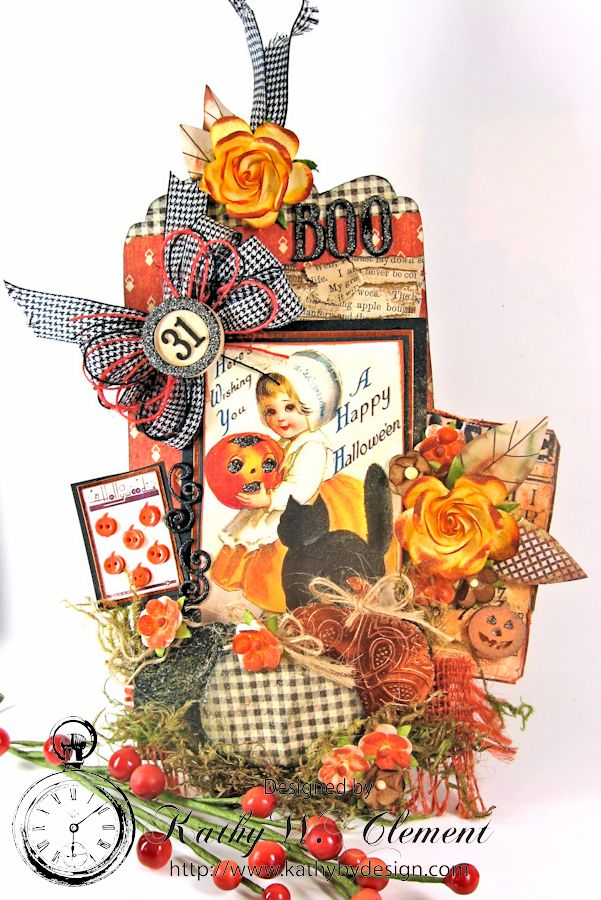 Kathy by Design Halloween Magnet 03