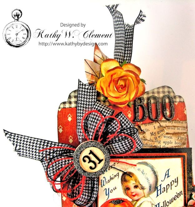 Kathy by Design Halloween Magnet 05